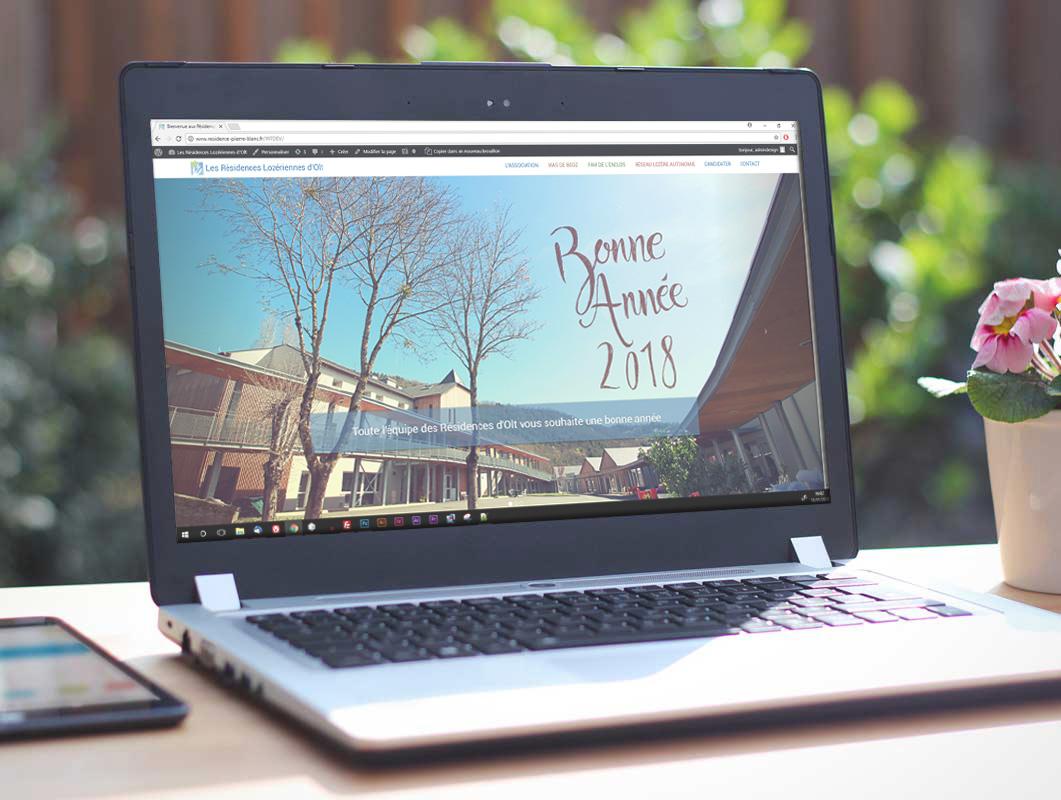 Nouvelle année, nouveau site web